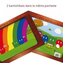 kamishibais Petit rond bleu et l'arc-en-ciel - Petit rond bleu et les sons