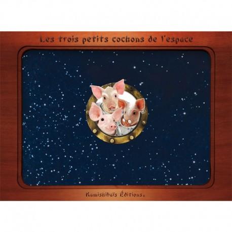 Kamishibaï les trois petits cochons dans l'espace