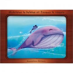 kamishibai Madeleine la baleine et Thomas le rémora